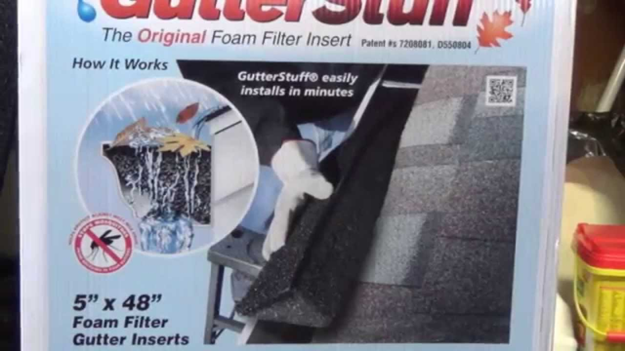Gutterstuff Installation And Review Youtube