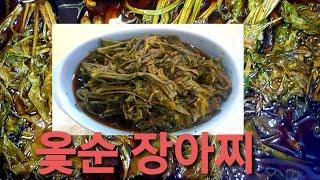 옻순 장아찌 만들기&새콤달콤&밥맛 살려주…