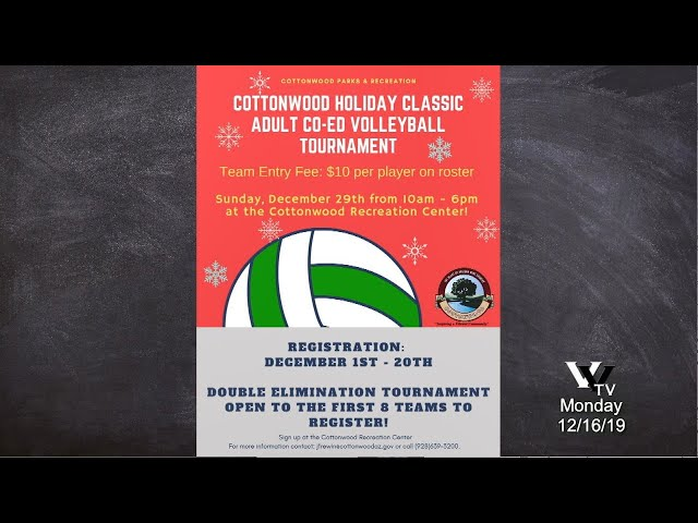 Inside Cottonwood - Holiday Events and Sports at the Rec Center