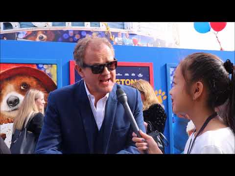 Red Carpet Interviews for Paddington 2 by Jolleen M.