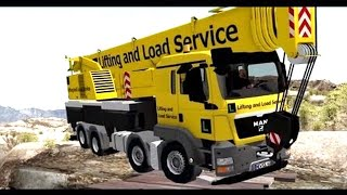 Rigs of Rods - MAN TGS with Liebherr LTF 1060 mobile crane