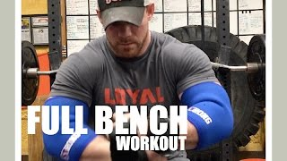 BENCH: Full Workout with Conditioning and a Duffalo Bar PR!
