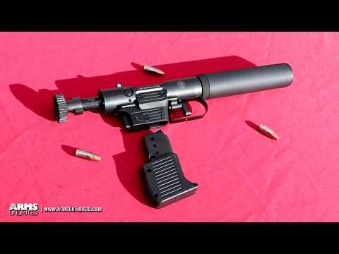 B&T VP9 Welrod 9mm Silenced Pistol