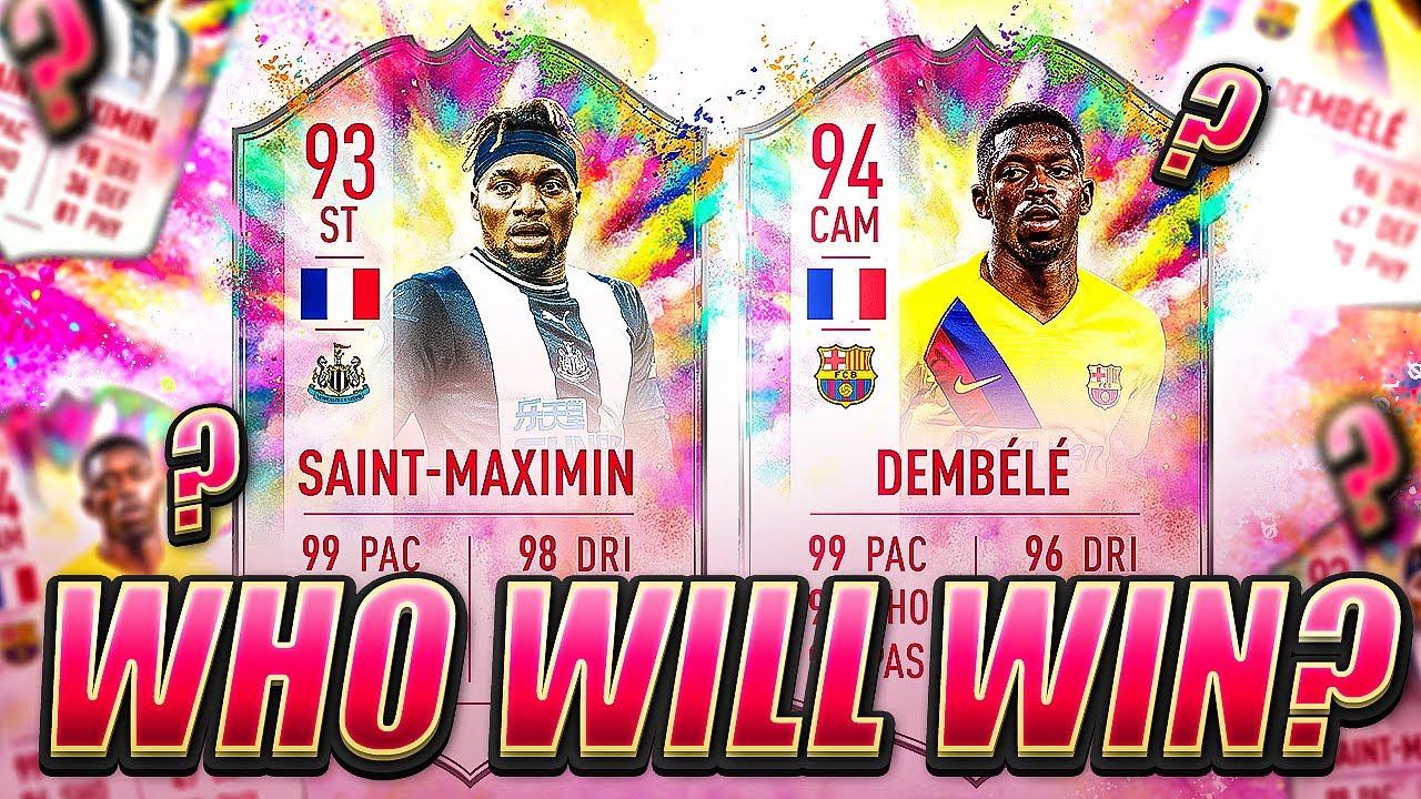 DEMBELE OR SAINT MAXIMIN?! SUMMER HEAT! FIFA 20