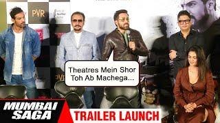 Emraan Hashmi & John Abraham REACT On Their Film Mumbai Saga Theater Release In Covid- 19