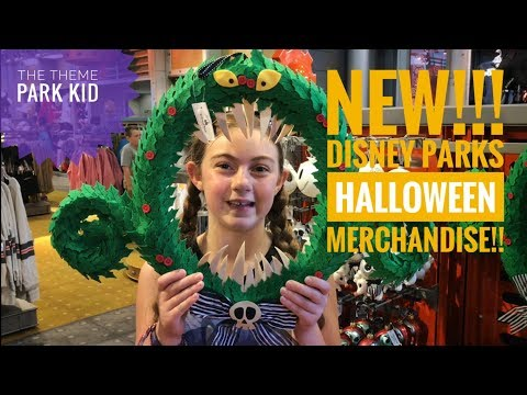 NEW! 💀@Epcot Halloween Merchandise 2017!! Walt Disney World 🌎 Fall items! 🎃 💀 👻