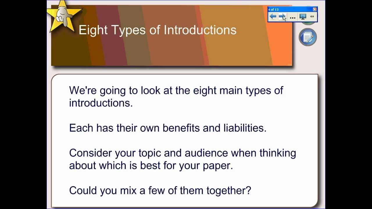 how to write an effective introduction paragraph