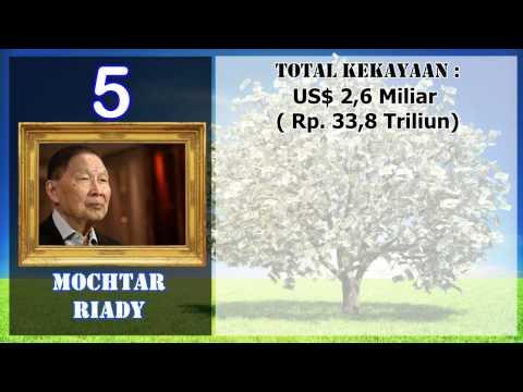 8 ORANG PALING KAYA DI INDONESIA 2015