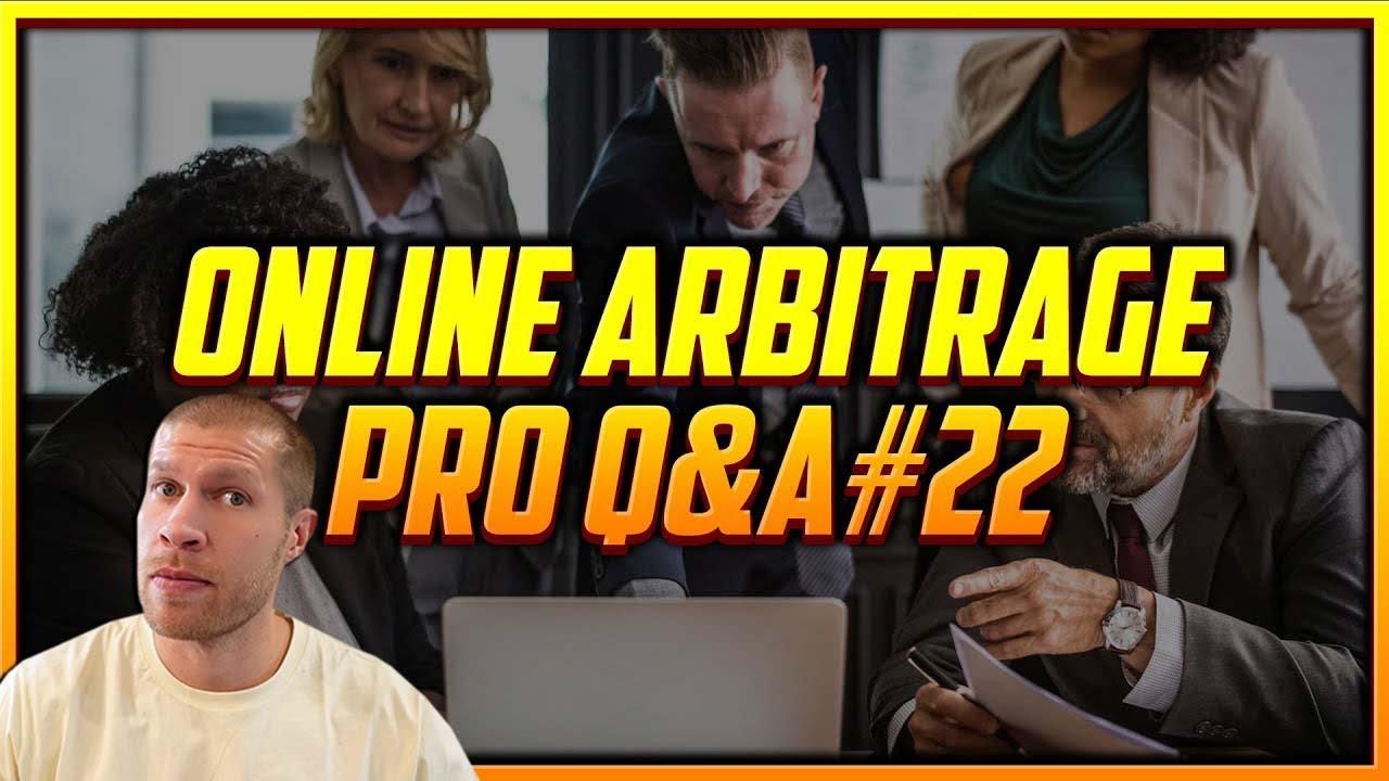 Online Arbitrage Pro Weekly Q&A #22
