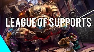 League of Supports | Best Support Plays 2013-2015 (League of Legends)
