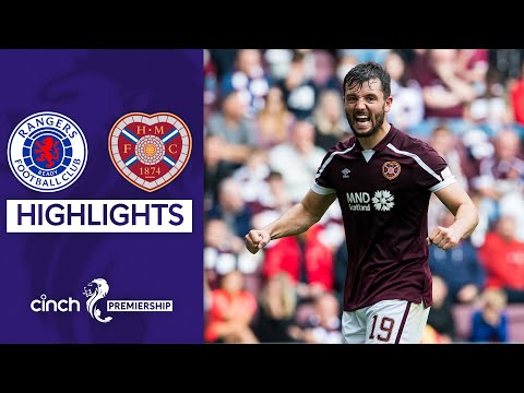 Rangers Hearts Goals And Highlights