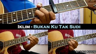 Download lagu Iklim - Bukan Ku Tak Sudi (Instrumental/Full Acoustic/Guitar Cover)