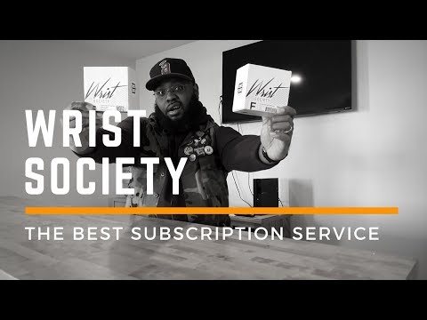 REVIEW: Best Subscription Service? Wrist Society Unboxing