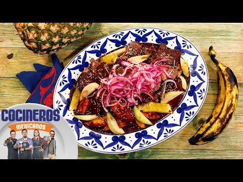 Receta: Manchamanteles   Cocineros Mexicanos