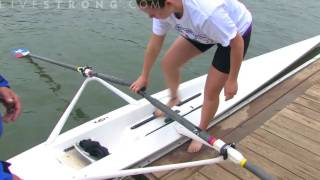 How To Get In A Rowing Boat