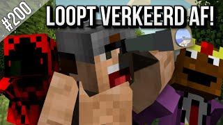 Minecraft Survival #200 - LOOPT VERKEERD AF!