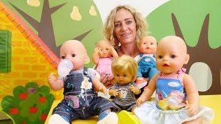 Spielzeug Kindergarten. Formen lernen mit Nicole. Video für Kinder.
