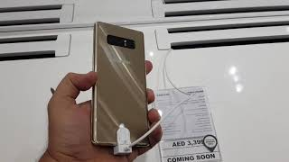 Samsung Galaxy Note 8 Colours Dubai