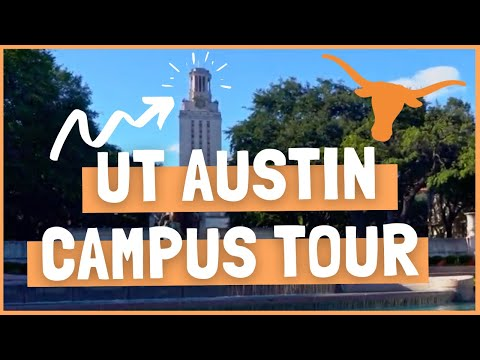 UT AUSTIN Virtual Campus Tour!