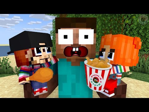 Monster School: Chucky Return Game Challenge - Funny Minecraft Animation