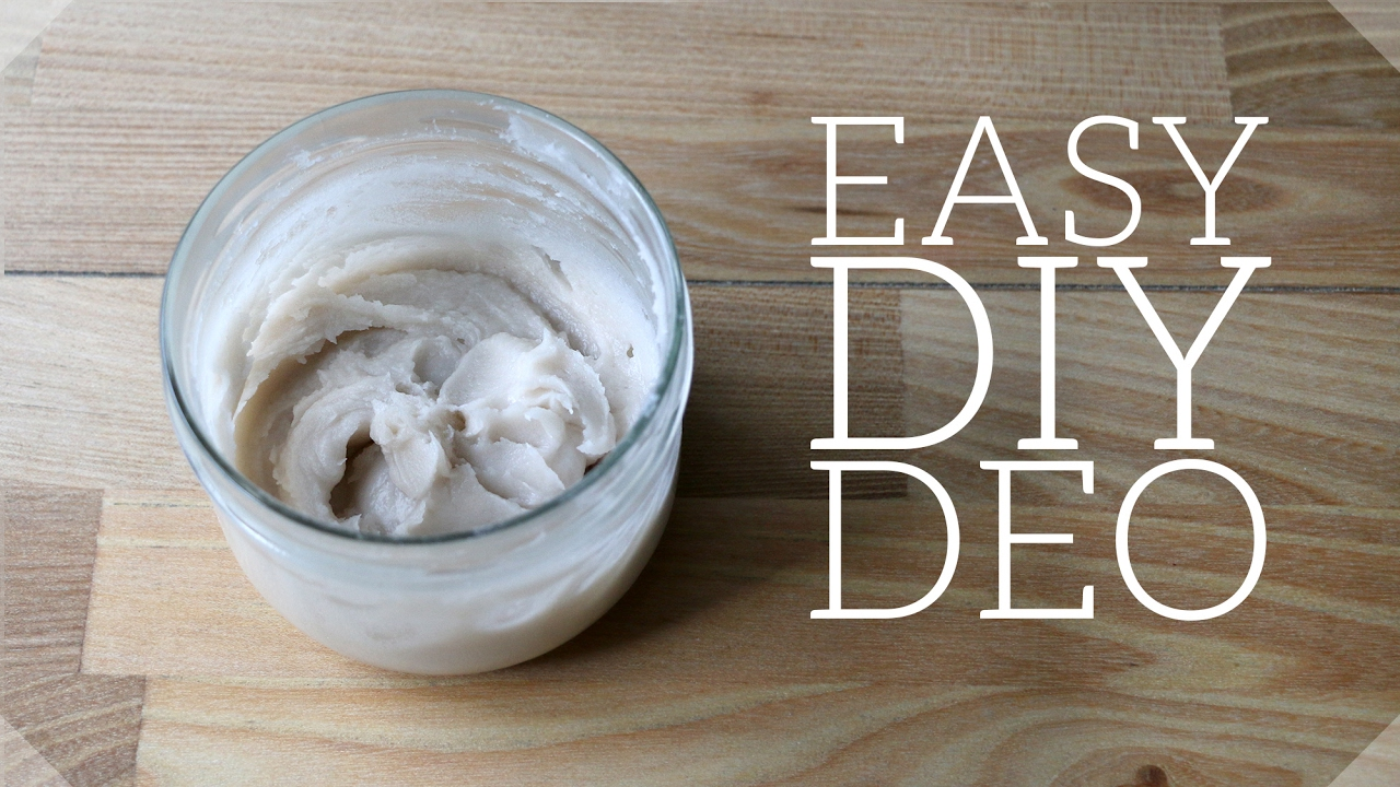 DIY Natural Deodorant Recipe - that works!