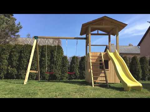 DIY Outdoor Kids Playground