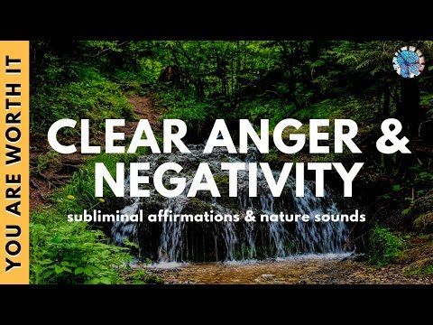CLEAR NEGATIVE ENERGY | Subliminal Affirmations & Relaxing Nature Sounds for Cleansing Space & Self