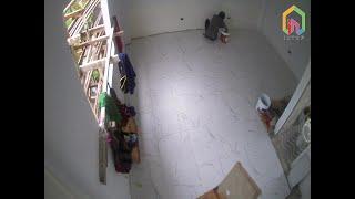 필리핀 세부 막탄 다이빙 리조드 타일 설치 (Tile …