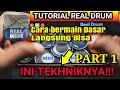 Tutorial Cara Belajar Dan Bermain Real Drum Bagi Pemula Part   Mp3 - Mp4 Download