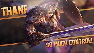 Strike of Kings: SO MUCH CONTROL!! Thane [Tank] Gameplay