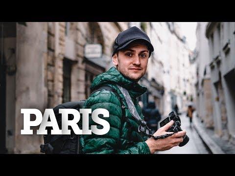 PARIS IN THE RAIN PHOTOGRAPHY — Fujifilm X-H1