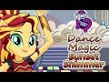 Dress up games: Dance Magic Sunset Shimmer - Make up games for girls, fun free online games