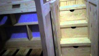 Past And Present Woodwork™quick View Of Unfinished  Bunk Bed