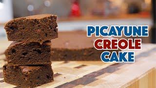 1910 Picayune Creole Molasses Cake Recipe