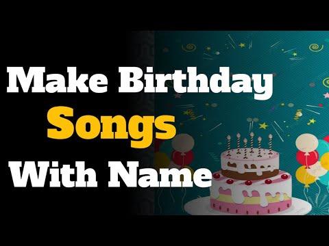 How To Make Happy Birthday Song In Hindi Urdu Youtube