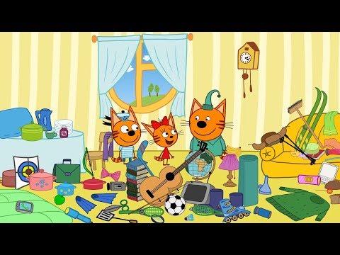 Три Кота все серии подряд без остановки смотреть онлайн в HD