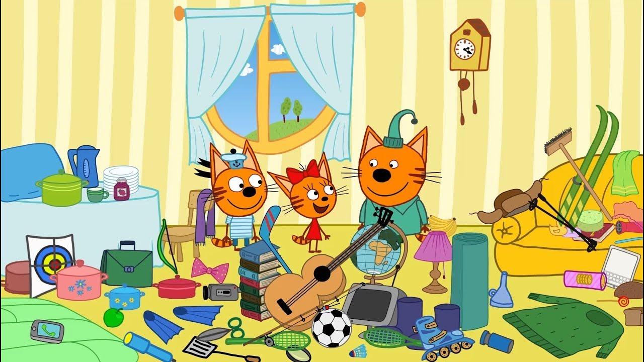Три кота про эклеры
