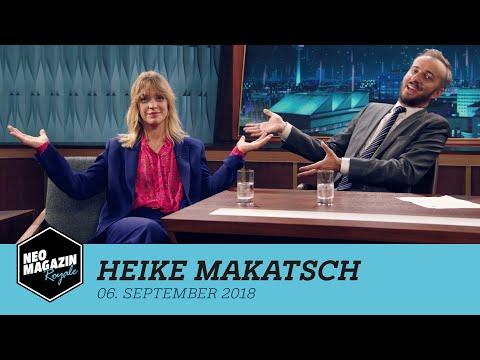 Heike Makatsch zu Gast im NEO MAGAZIN ROYALE mit Jan Böhmermann  ZDFneo