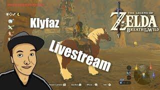 Legend OF Zelda Breath Of The Wild Livestream Och En Massa Mer