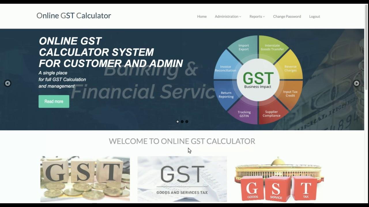 Online GST Calculator