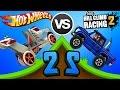 Hot Wheels: Race Off vs Hill Climb Racing 2 - RIG STORM vs SUPER DIESEL