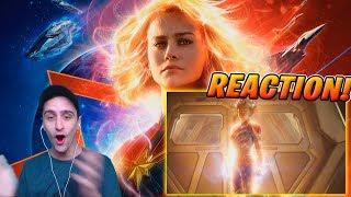 CAPITANA MARVEL, de Marvel Studios – Tráiler Oficial #2 REACCIÓN!