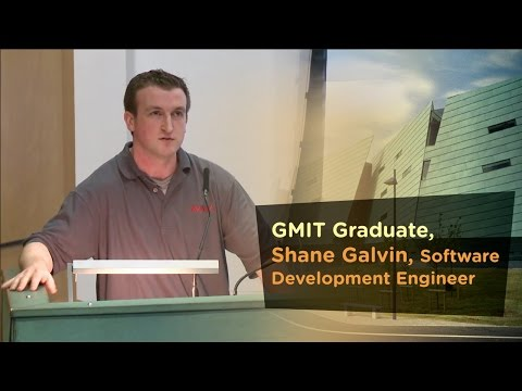 Software Development Graduate, Shane Galvin,  - Galway Mayo Institute of Technology - GMIT