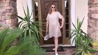 Украшаю летнее платье. Простая идея за 5 мин