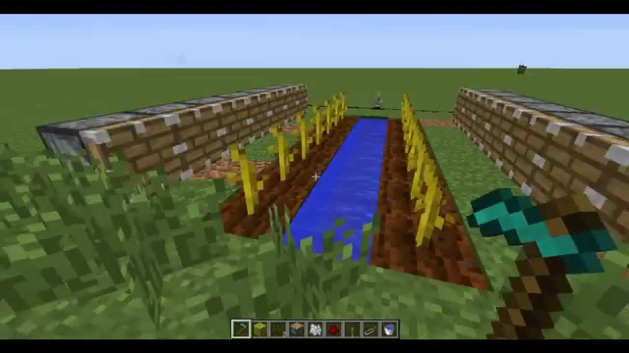 видео как сделать автоматичческую ферму арбузов в майнкрафт #8