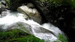 山梨・福士川渓谷『七ツ釜滝』