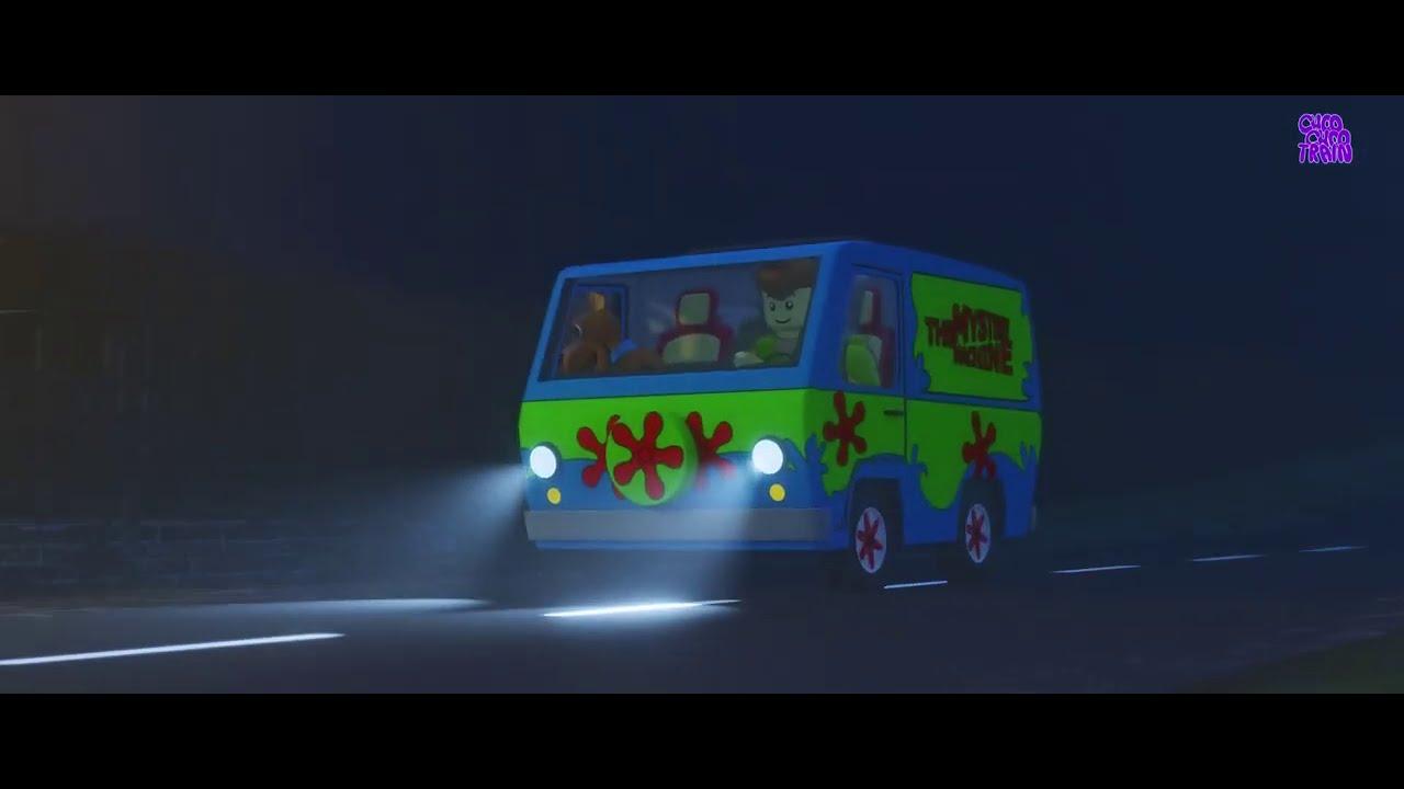 Scooby Lego Horror Short Video - Halloween funny video
