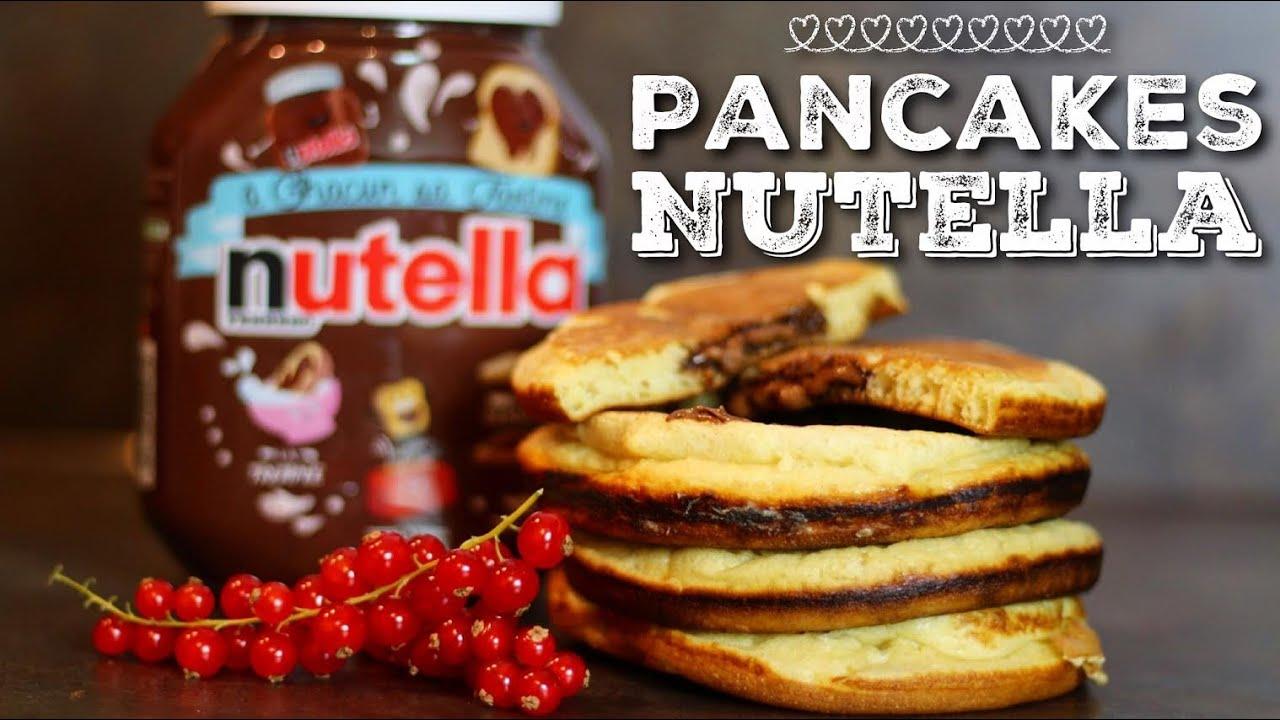 Recette Pancakes Nutella En Couple Youtube