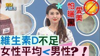 【金牌焦點】 國人普遍性維生素D不足,女性平均值更低於男性?!