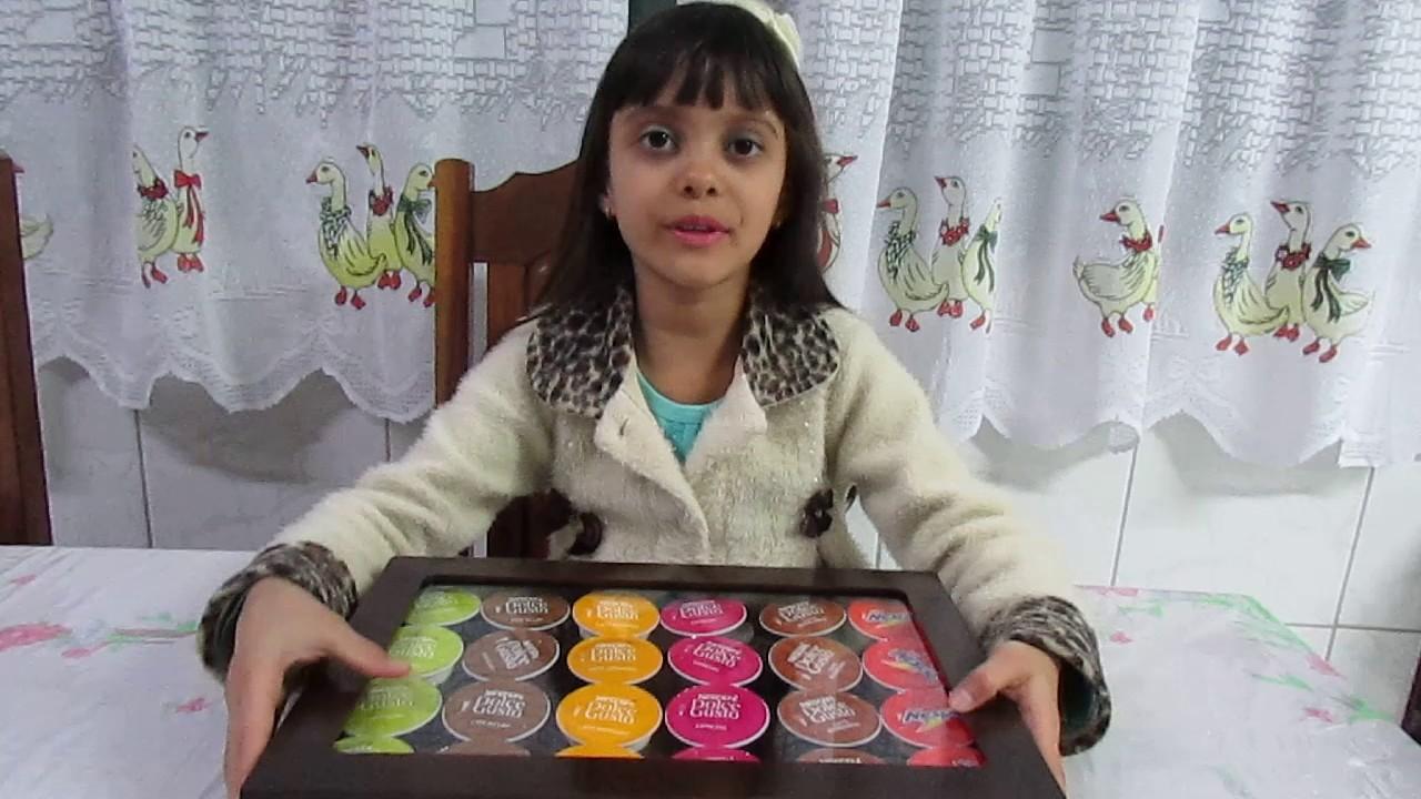 Caixa porta c psulas nescaf dolce gusto em mdf laqueada - Porta cialde nescafe dolce gusto ...